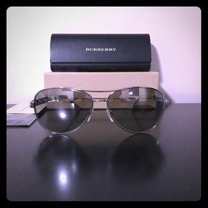 Burberry mirrored sunglasses